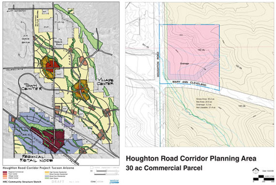 Houghton Corridor Masterplan land planning
